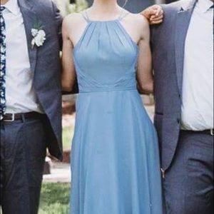 3f399972c6 Azazie Dresses - Azazie Melinda bridesmaid dress in dusty blue